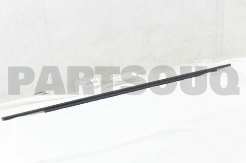 REAR DOOR BELT LH 75740-47010 7574047010 Genuine Toyota MOULDING ASSY