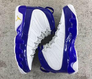 01cacff48e49 Nike Air Jordan 9 Retro BG SZ 4.5Y Kobe Bryant LA Lakers PE Purple 302359- 121