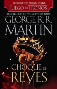 Choque-de-reyes-A-Clash-of-Kings-Paperback-by-Martin-George-R-R-Brand
