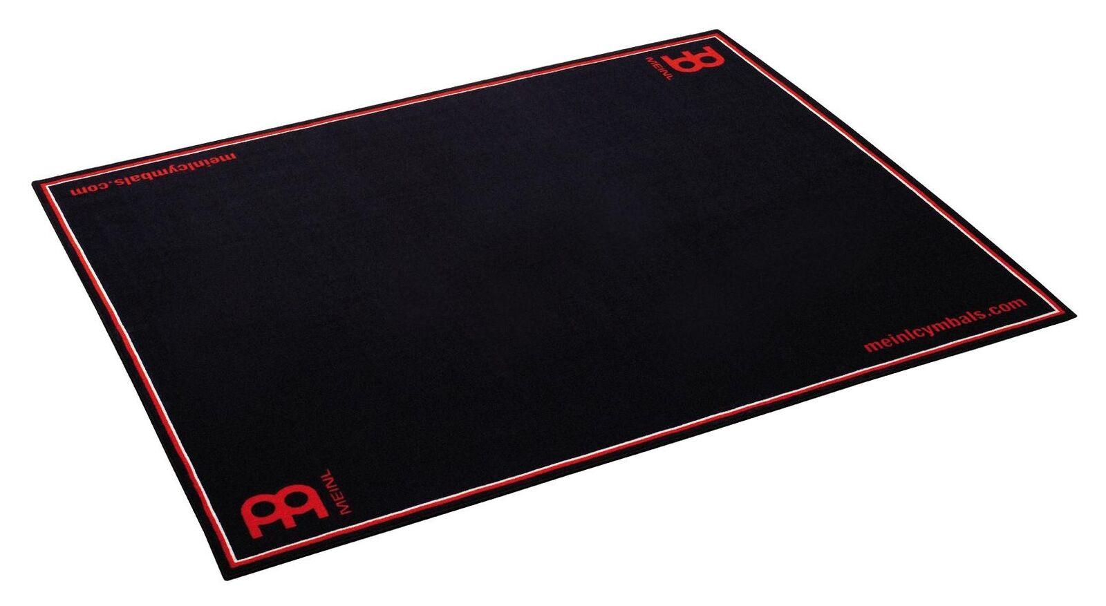 Großer Schlagzeug-Teppich in schwarz von Meinl mit rutschfester Gummiunterseite