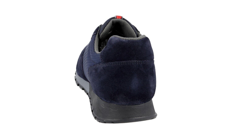 Lujo prada matchrace cortos zapatos 4e2700 azul azul azul nuevo Nuevo 7,5 41,5 42 87a287