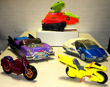 Toy Vehicles Lot of toy cars automobiles motorcycles tank military sci-fi action