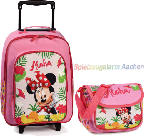Disney MINNIE MOUSE Trolley Koffer 20498 20497-2100 KINDERGARTEN Tasche