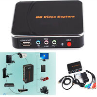 1080p Hd Pvr Game Video Capture Hdmi/ypbpr Recorder For Xbox 360 One Live Ps4