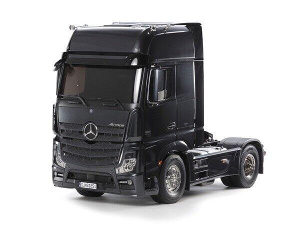 Tamiya 1 14 Mercedes-Benz Actros 1851 negro edición edición negro R C KIT  56342 2adc48