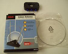 NIB RCA Indoor TV Antenna VHF UHF FM Stereo ANT 115