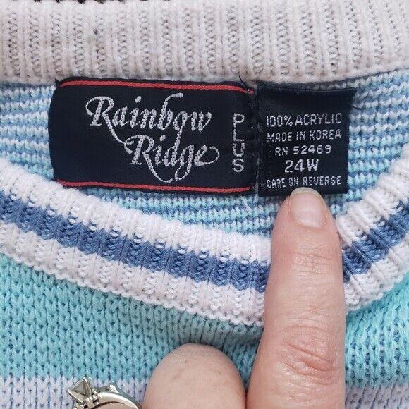 Rainbow Ridge plus Vintage sweater - image 3