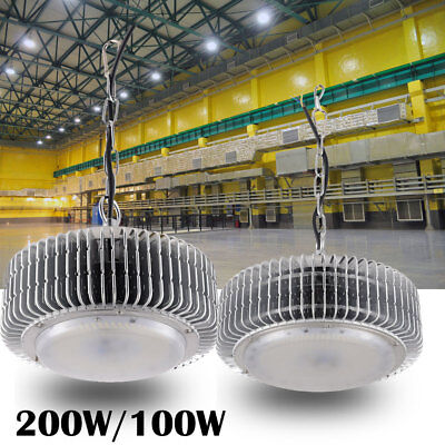 5 X 200W LED High//Low Bay Light Commercial Warehouse Factory Shed Shop Lighting