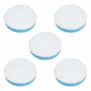 Buffing Hook and Loop Backing Polishing Finishing Pad 9 Foam Cutting 5pk