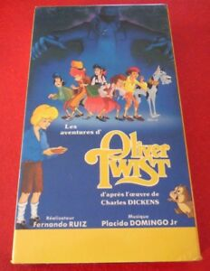 VHS-French-Movie-Les-Aventures-D-039-Oliver-Twist