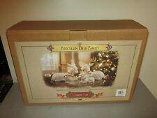 Grandeur Noel 1999 Porcelain Deer Family