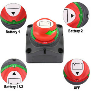 600A-Boot-Batterie-Trennschalter-Hauptschalter-Stromschalter-Ausschalter-12-48V