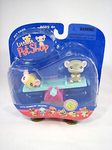 BNIB-LITTLEST-PET-SHOP-MOUSE-WITH-SEASAW-191-amp-192