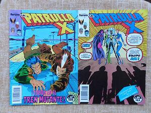 Comics-La-Patrulla-X-n-87-1989-y-89-1990-Forum-Marvel-Chris-Claremont