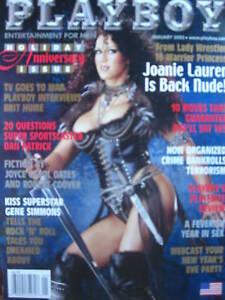 JOANIE LAURER 1/02 Playboy GENE SIMMONS DAN PATRICK   eBay