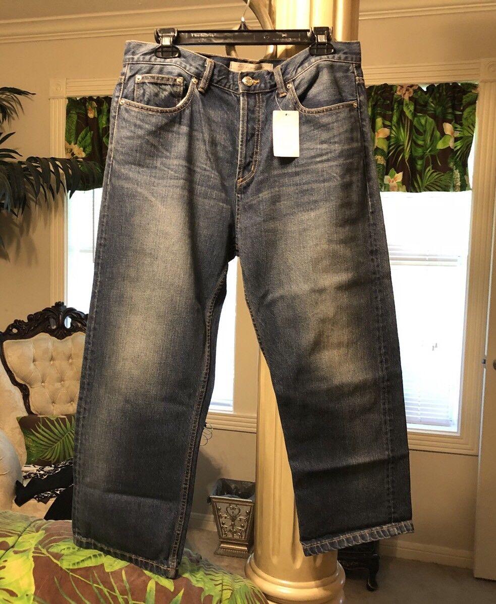Marc By Marc Jacobs Sz 29 Annie Boyfriend Cropped Jeans
