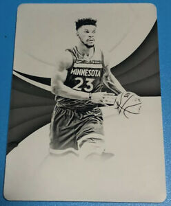 17-18-Panini-Immaculate-JIMMY-BUTLER-1-1-Black-Print-Plate-NBA-Star-Bulls-Wolves