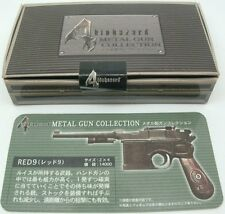 Oficial Resident Evil Figura De Pistola De Metal 4 Rojo 9 no Airsoft ID Collection 6