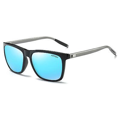 Men's Retro Aluminum Aviator Polarized Sunglasses Vintage Eyewear Eye Glasses