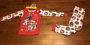 Paw Patrol Toddler Girl Long Sleeve Shirt & Pants Christmas Pajamas New 4t Sleepwear Baby & Toddler Clothing