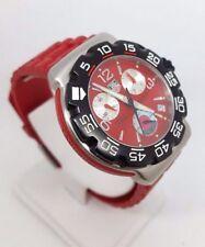 acced83315a item 2 TAG HEUER FORMULA 1 QUARTZ STEEL GENTS RED RUBBER STRAP CAC 1112  (2561) -TAG HEUER FORMULA 1 QUARTZ STEEL GENTS RED RUBBER STRAP CAC 1112  (2561)