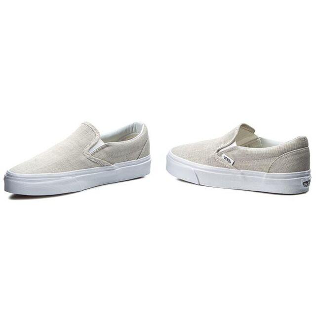 Vans Schuhe Billig Kaufen Vans Chambray Classic Slip On