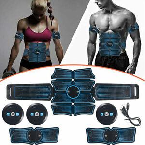 EMS Abdominal Muscle Stimulator Muscle Toner Waist Trainer Fitness Belt Home Gym