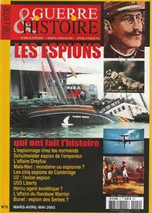 Guerre-amp-Histoire-HS-n-9-Hors-serie-2003-Les-espions-qui-ont-fait-l-039-histoire