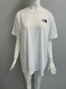 NWOT-The-North-Face-Men-s-SS-T-Shirt-NF-Logo-White-Size-2XL