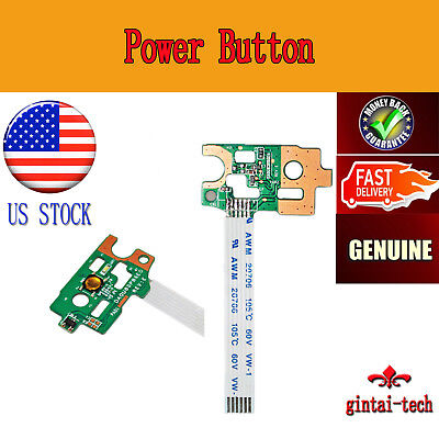 Power Button Board replacement For HP Pavilion 15-n209nr 15-n210dx 15-n210nr