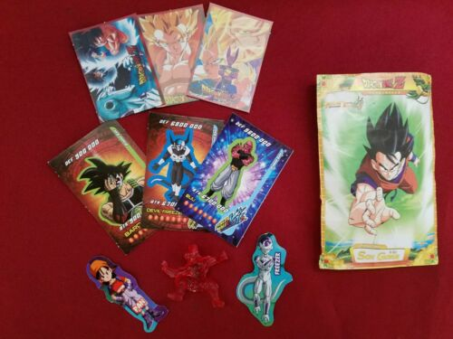 Dragon ball Booster with cards and figure Exclusive from Mexico extras