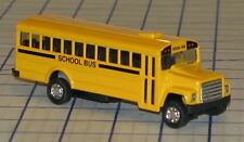 Die-Cast Yellow School Bus with Pull-Back Motor China Mint Condition