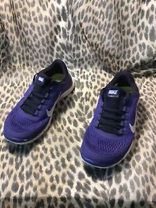 best service e62d5 24d4a Image is loading Nike-Free-3-0-Womens-Running-Shoes-Violet-