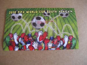 Nevis-2010-FIFA-World-Cup-Afrique-Du-Sud-Souvenir-Feuille