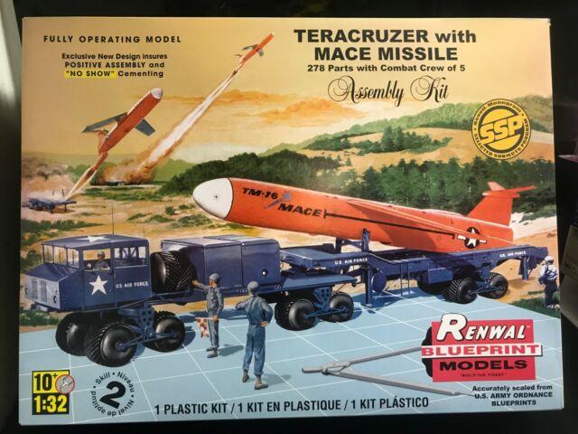 ENORME COFFRET 60cm MAQUETTE Monogramme Revell Teracruzer éch 1:32 kit  missile