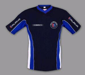 Neu-Bestickt-Bmw-Alpina-T-Shirt-Blau-Gr-S-M-L-XL-XXL-XXXL