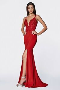 new arrive price reduced size 40 Details about Cinderella Divine CF319 Evening Dress Prom Dress Fitted lace  bodice gown
