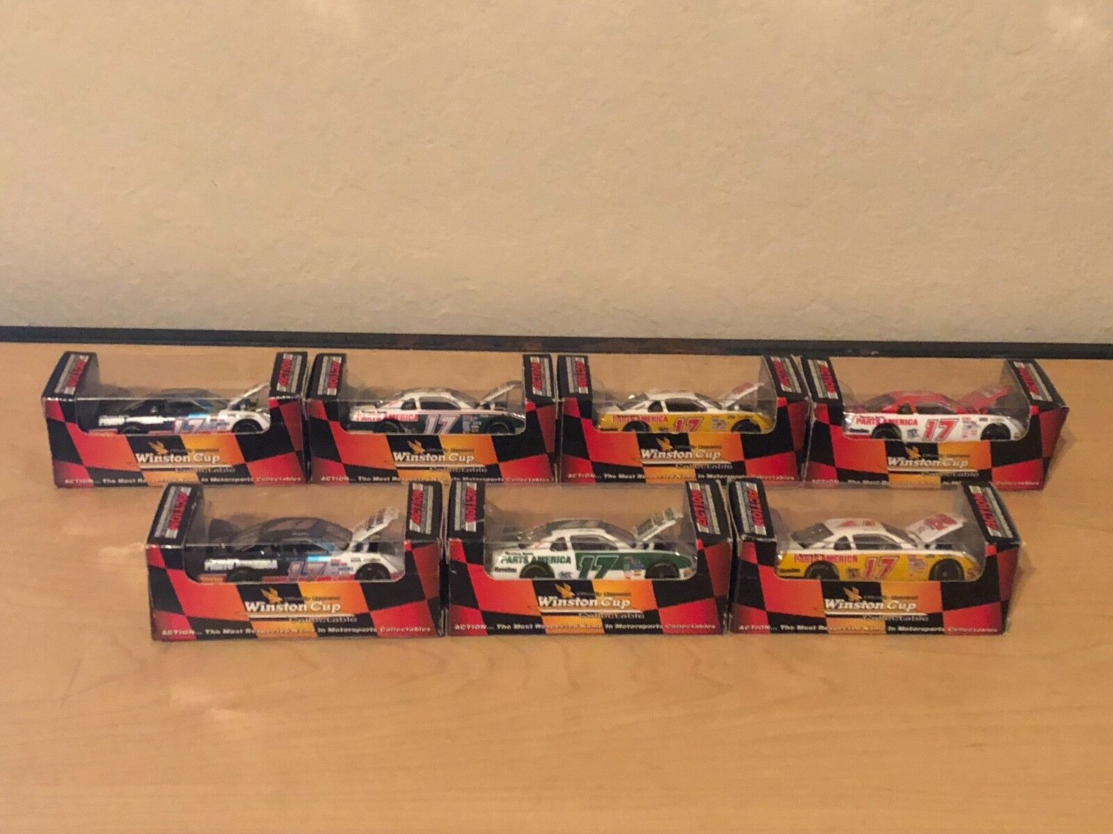 Darrell Waltrip 1 64 Scale Diecast 7 Car Career Set - Action Racing Collectables