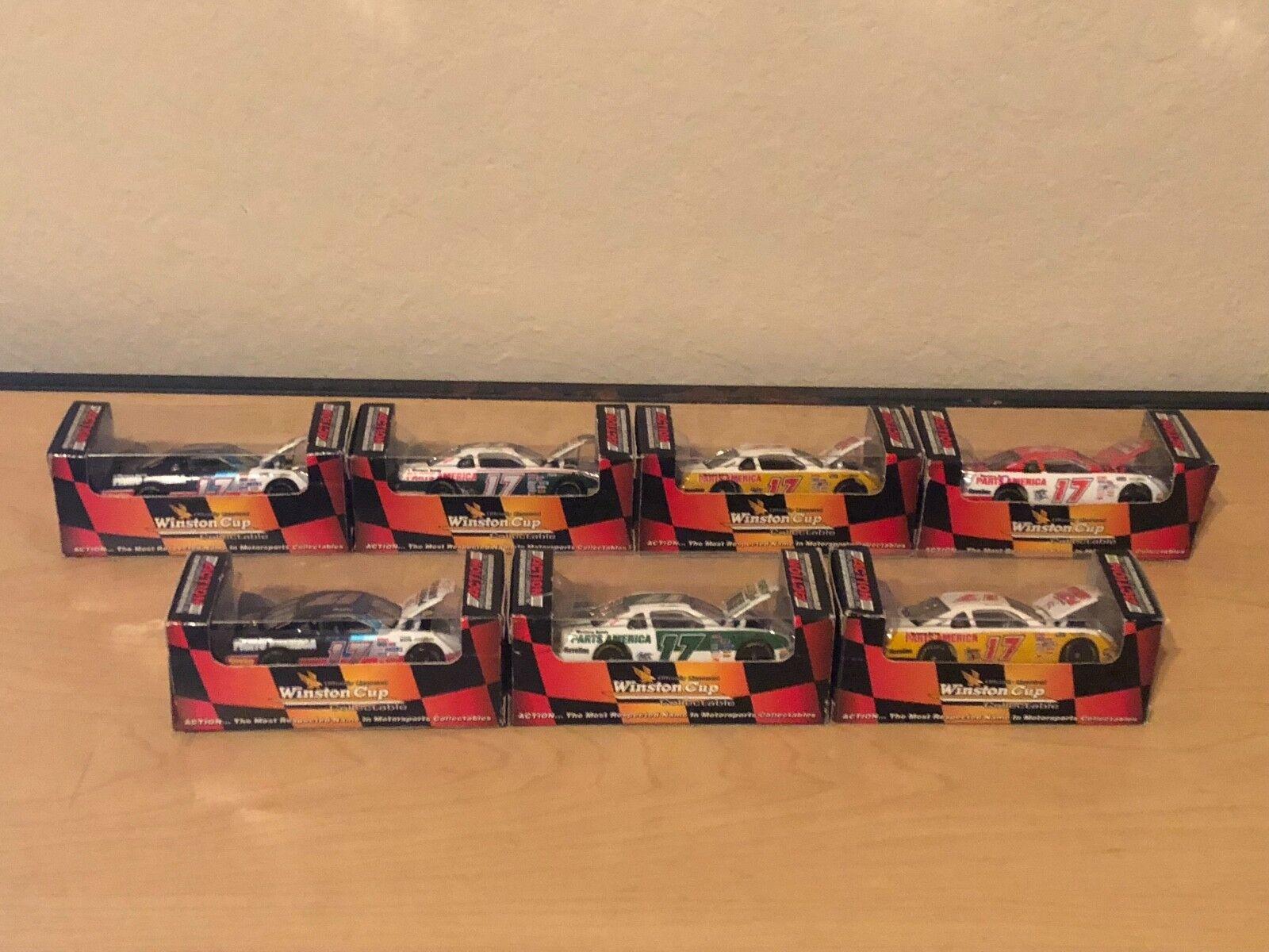 Darrell  Waltrip échelle 1 64 Diecast 7 Voiture voiturerière Set-Action Racing Collectables  pour pas cher