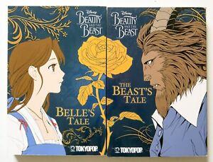 Beauty-amp-the-Beast-Beast-039-s-Belle-039-s-Tale-Tokyopop-Manga-Disney-Novel-Comic-Book