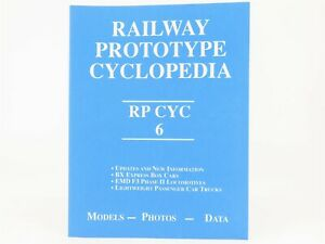 Railway-Prototype-Cyclopedia-RP-CYC-Volume-6-by-Hawkins-amp-Wider-2001-SC-Book