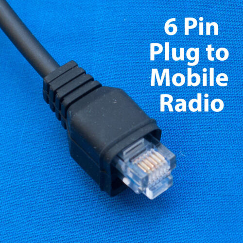 KMC-30 Microphone Cable 6pin for Kenwood TK-715 TK-7150 TK-7160 TK-7180 TK-730