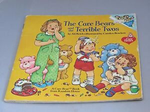 Vintage-Care-Bears-and-the-Terrible-Twos-book-1983