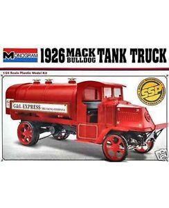 discontinued-Monogram-1-24-26-Mack-Bulldog-Tanker-Plastic-Model-Kit-new-in-box