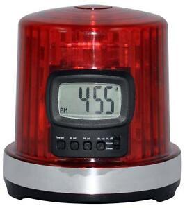 NHL-Hockey-GOAL-LIGHT-ALARM-CLOCK-w-GOAL-Horn-Sound-amp-Flashing-LED-Lights