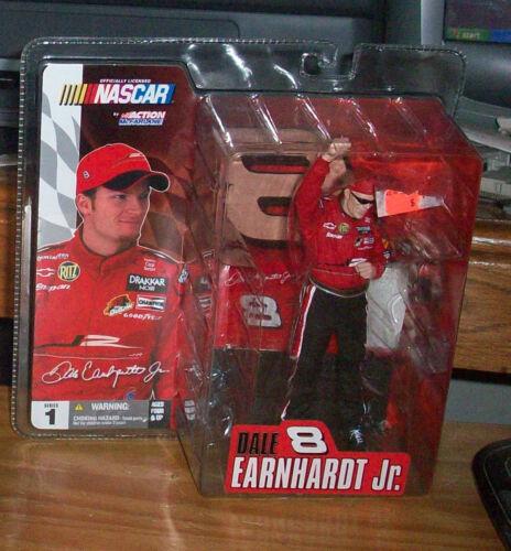 McFARLANE ACTION NASCAR 1 DALE EARNHARDT Jr #8 ACTION FIGURE