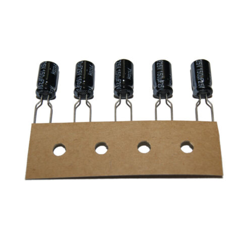 Pack of  2,5,10 or 20 150uF 25V Low ESR Electrolytic Capacitors 105/'C Panasonic