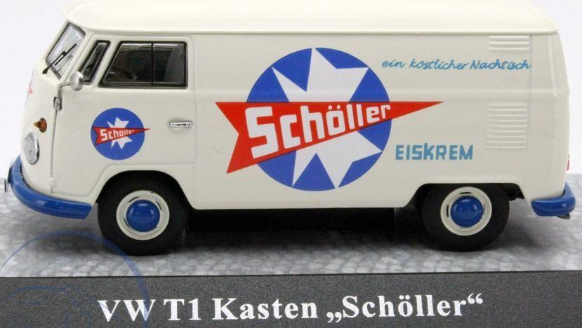 nueva gama alta exclusiva Escaso Premium ClassiXXs VW T1 furgoneta Scholler Helado 1 43 43 43 Nueva En Caja 1 de 500  precios bajos todos los dias