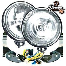 Bmw Mini Cooper S Sport Chrome Spot lights Fog Lamps Brackets Wiring Kit
