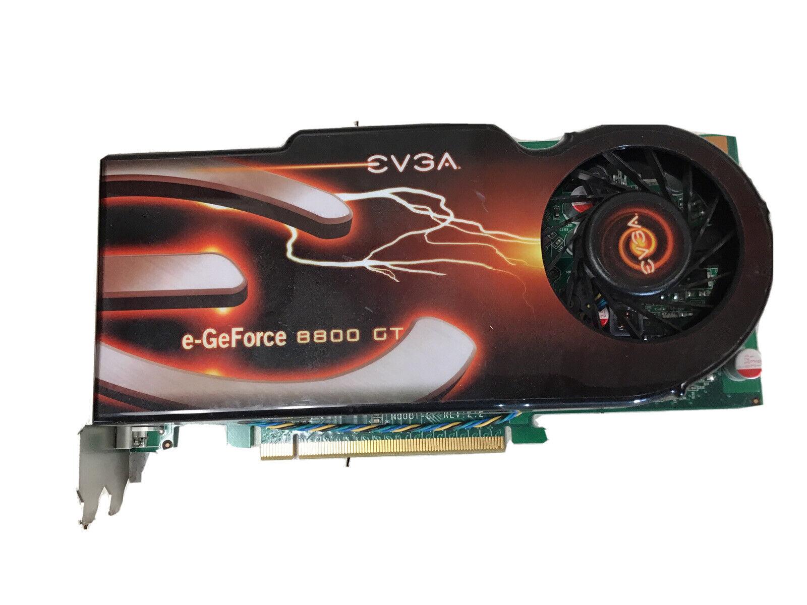 E-geforce 8800 GT PCI-E Video Card 512MB DDR3 Dual Slot 512-P3-N800-TR
